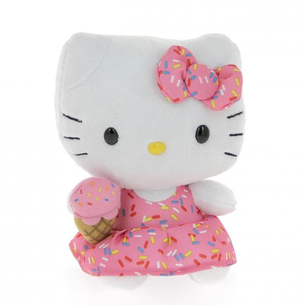 Peluche Hello Kitty Ice Cream 15 cm