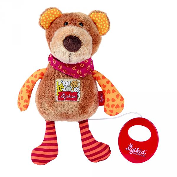 Doudou musical ours 23 cm