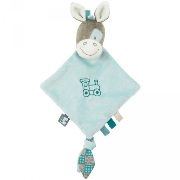 Mini doudou plat cheval Gaston 27 cm