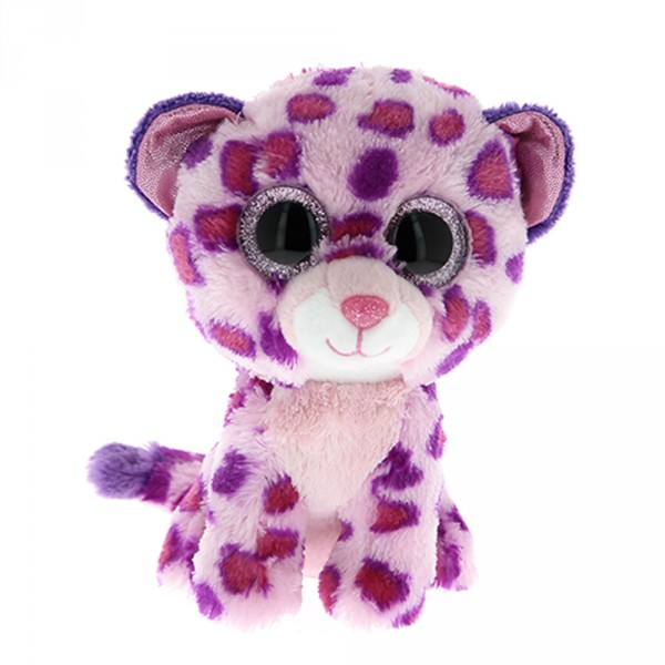 Peluche l opard glamour aux gros yeux ty mynoors - Animaux a gros yeux ...