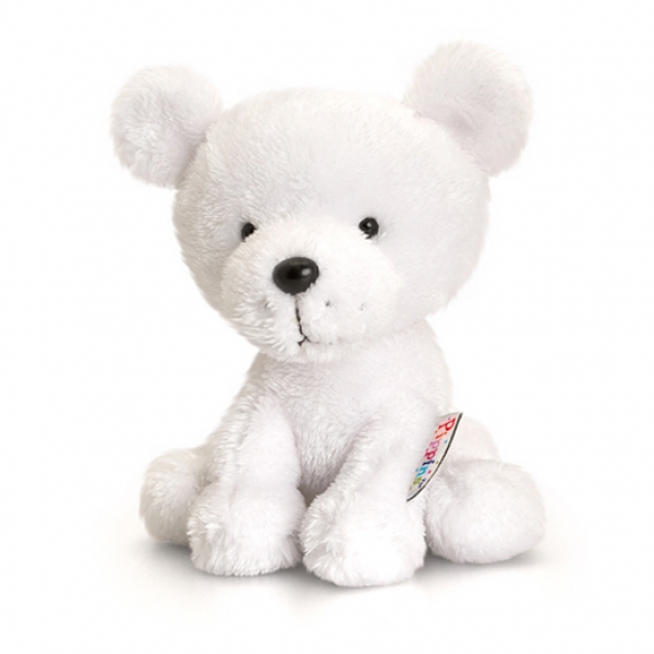 Peluche ours polaire Pippins 14 cm