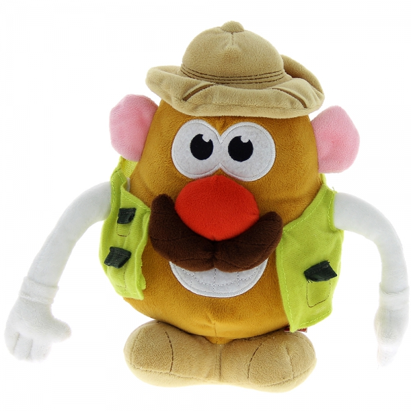 Peluche Mr Patate explorateur 26 cm
