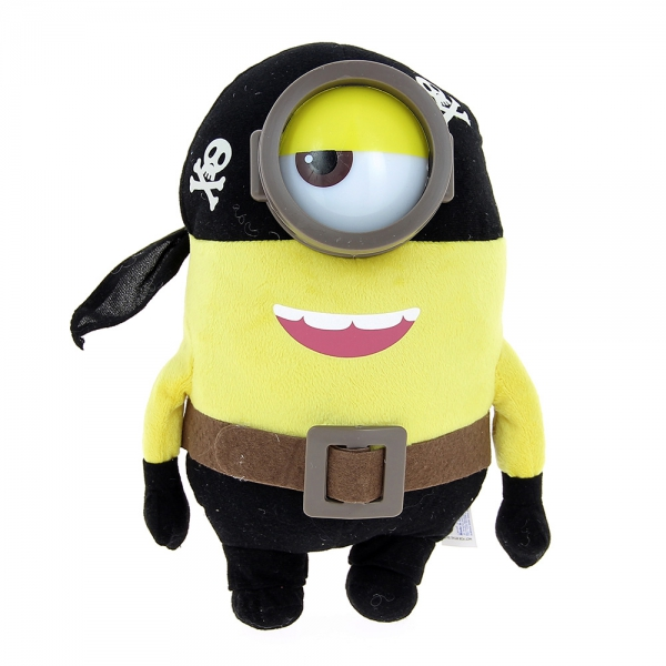 Peluche minion pirate 30 cm