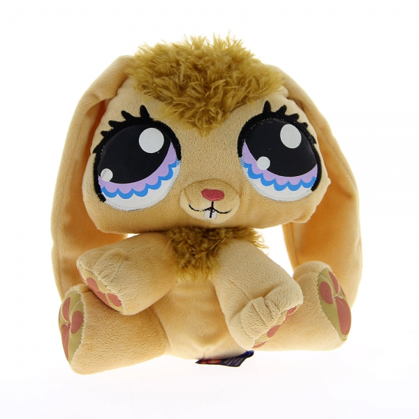 Peluche Pet Shop lapin beige 24 cm