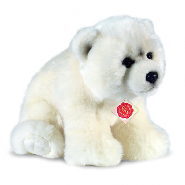 Peluche ours polaire 25 cm
