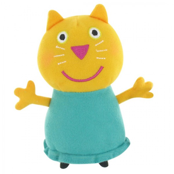 Peluche Peppa Pig Candie le chaton 27 cm