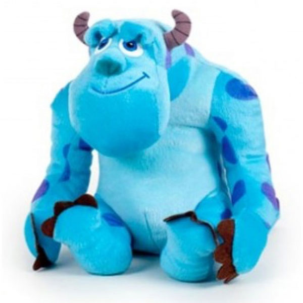 Peluche monstre Sully 60 cm