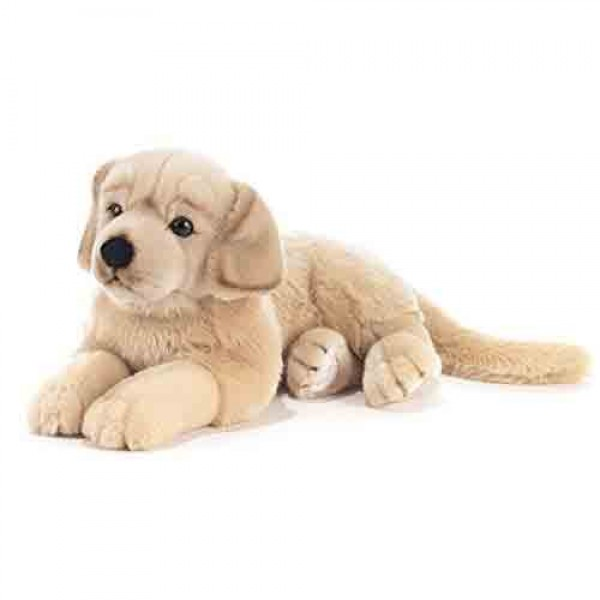 Peluche chien golden retriever 45 cm