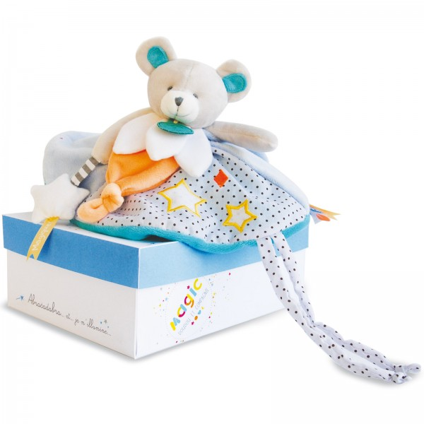 Doudou ours luminescent 30 cm