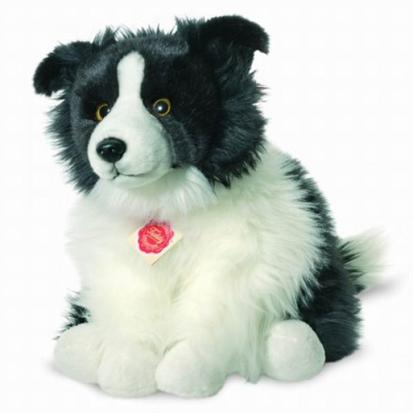 Peluche chien Border Colley 30 cm