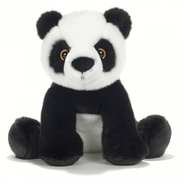 peluche panda assis 30 cm plush company mynoors. Black Bedroom Furniture Sets. Home Design Ideas