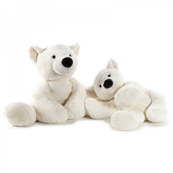 Peluche ours polaire 50 cm