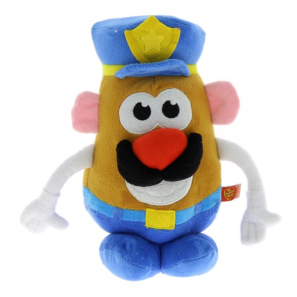 Peluche Mr Patate police 18 cm