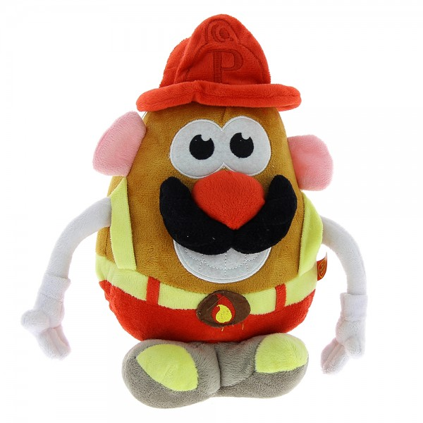 Peluche Mr Patate pompier 18 cm