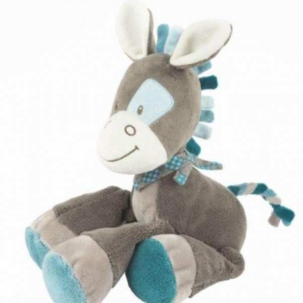 Peluche cheval Gaston 36 cm