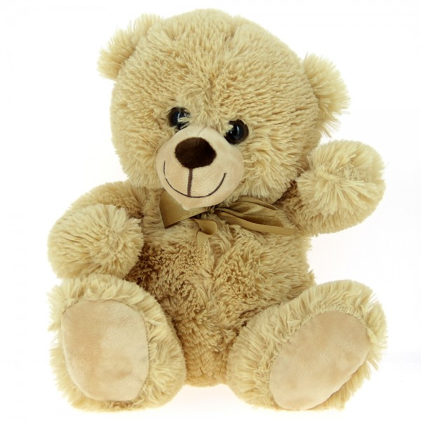 Peluche ours assis 30 cm