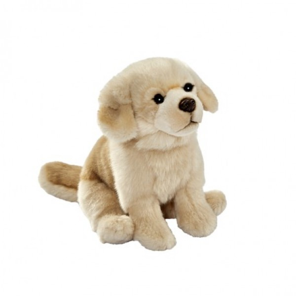 Peluche chien Golden assis 30 cm