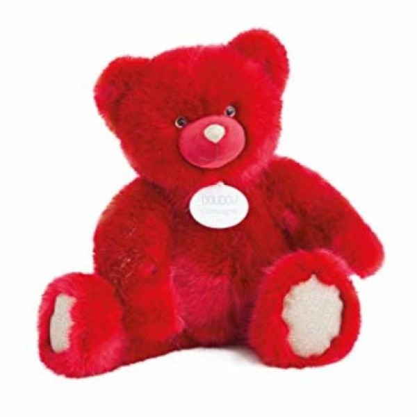 Peluche ours collection rouge rubis 120 cm