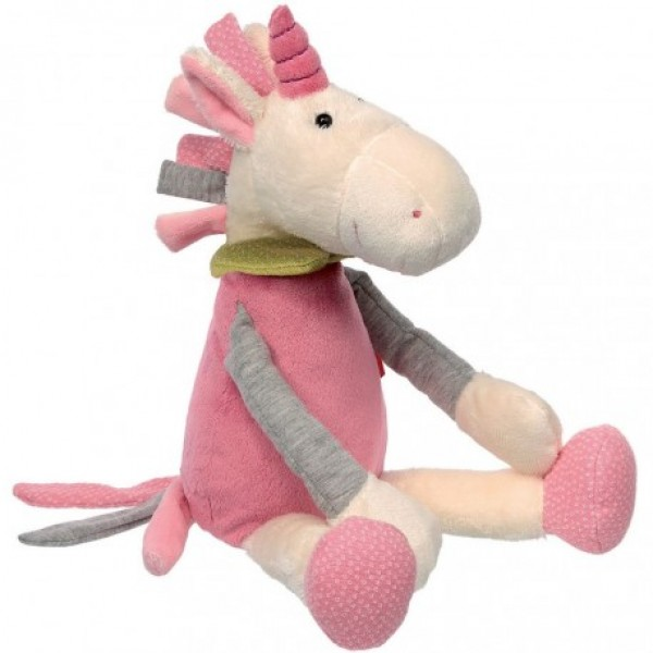 Peluche licorne Patchwork sweety 35 cm