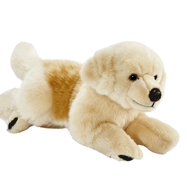 Peluche chien golden retriever 42 cm