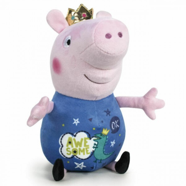 Peluche Peppa Pig it's magic bleu 20 cm