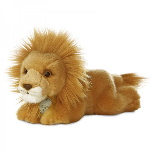 Peluche lion allongé 20 cm