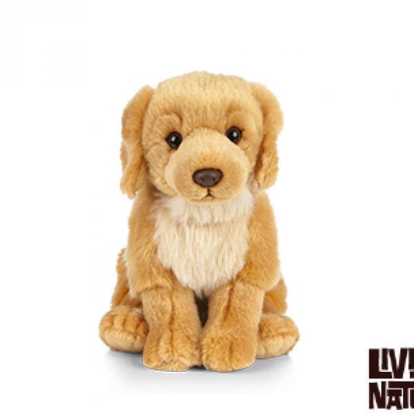 Peluche Golden retriever 22 cm -