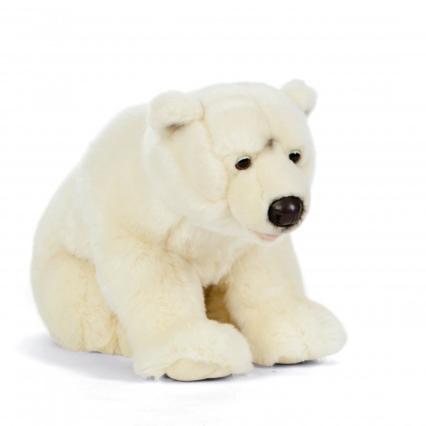 Peluche ours polaire 45 cm -