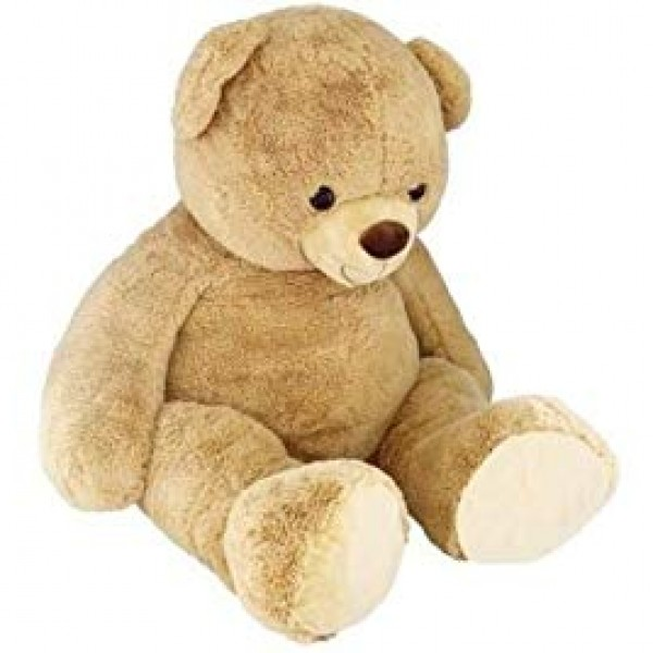 Peluche ours beige 135 cm