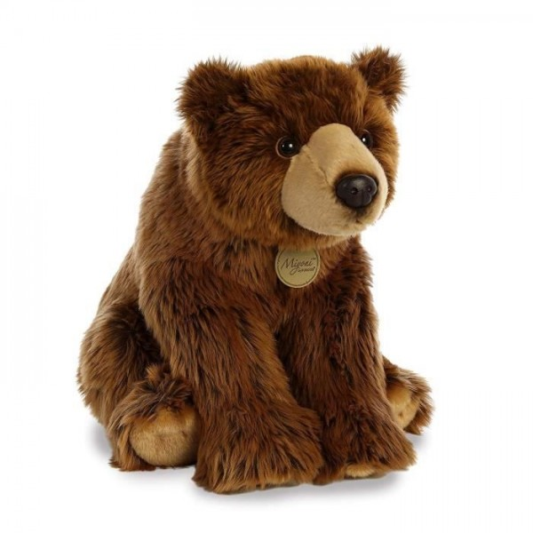 Peluche ours Grizzly 38 cm