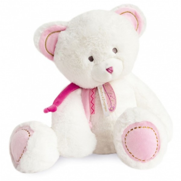 Peluche ours rose Attrape Rêves 40 cm