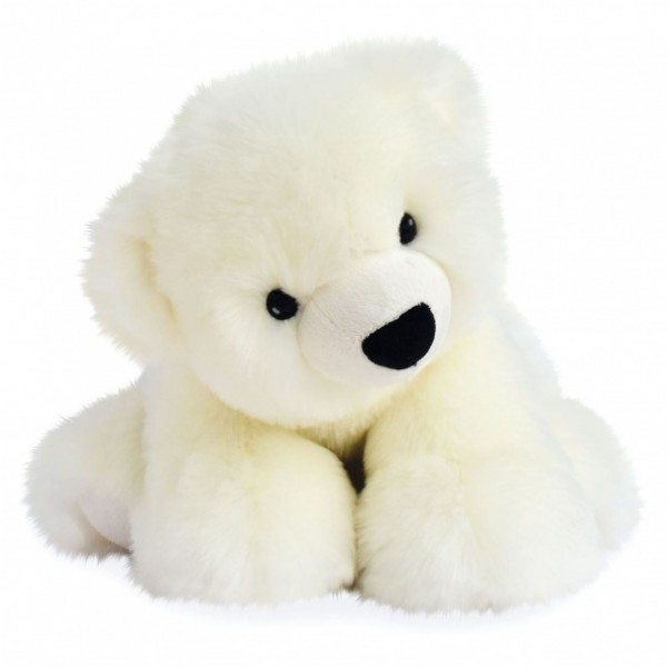 Peluche ours polaire 38 cm