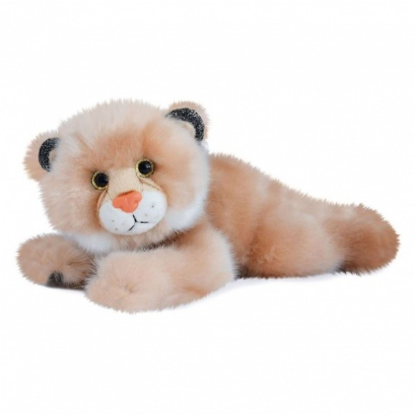 Peluche lynx  beige so chic 23 cm