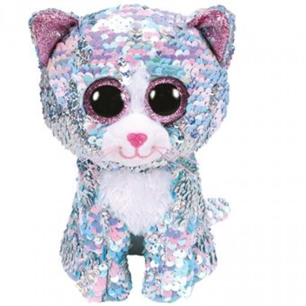 Peluche flippables chat Whimsy 15 cm