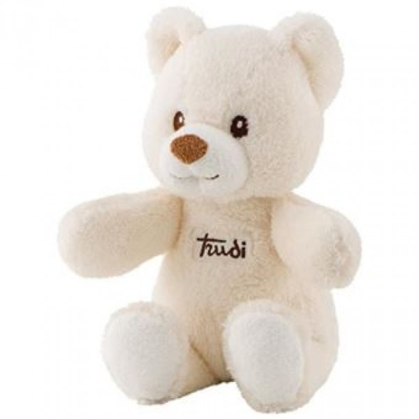 Peluche ours Cremino ivoire 26 cm