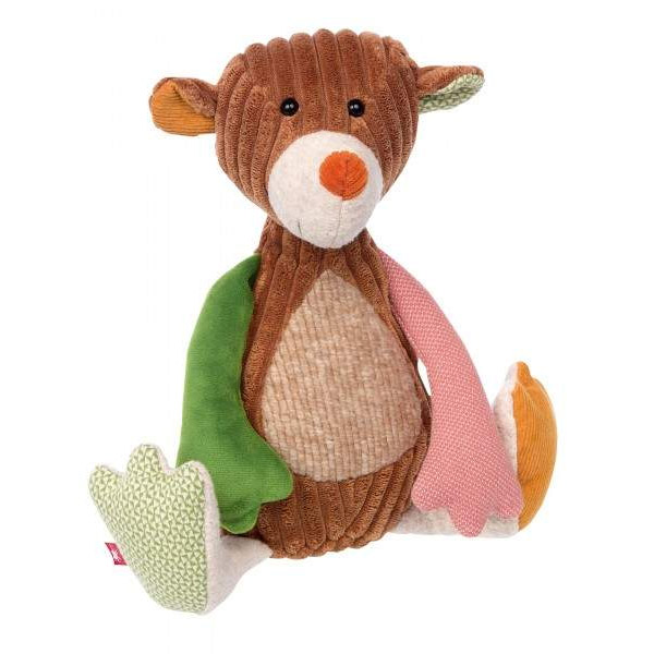Peluche ours Patchwork 30 cm