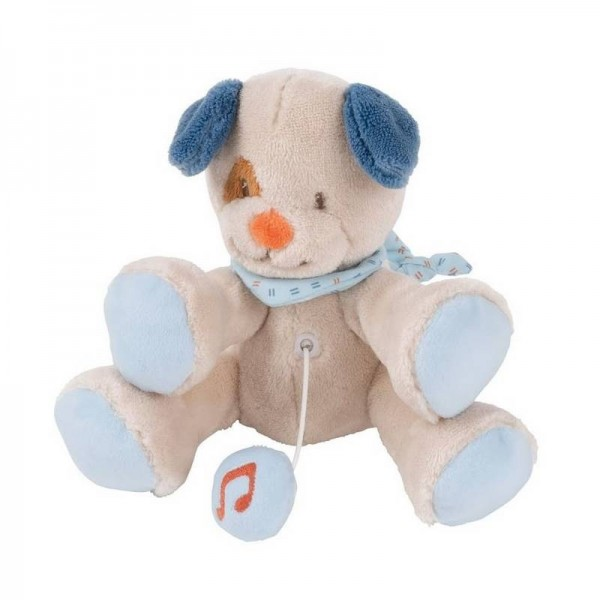 Mini musical Jim le chien 20 cm -