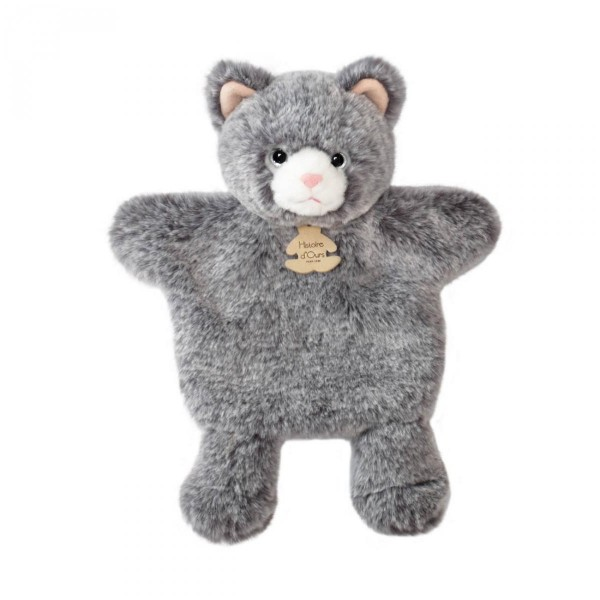 Doudou Marionnette chat sweety mousse 25 cm