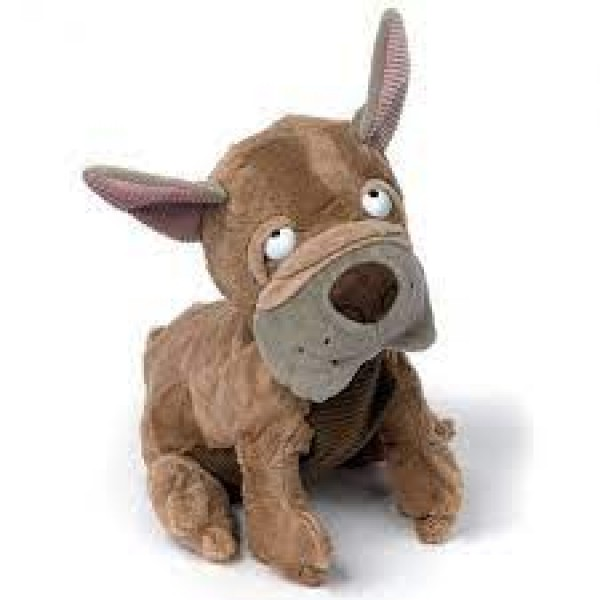 Peluche chien Bouledogue Flying French 25 cm