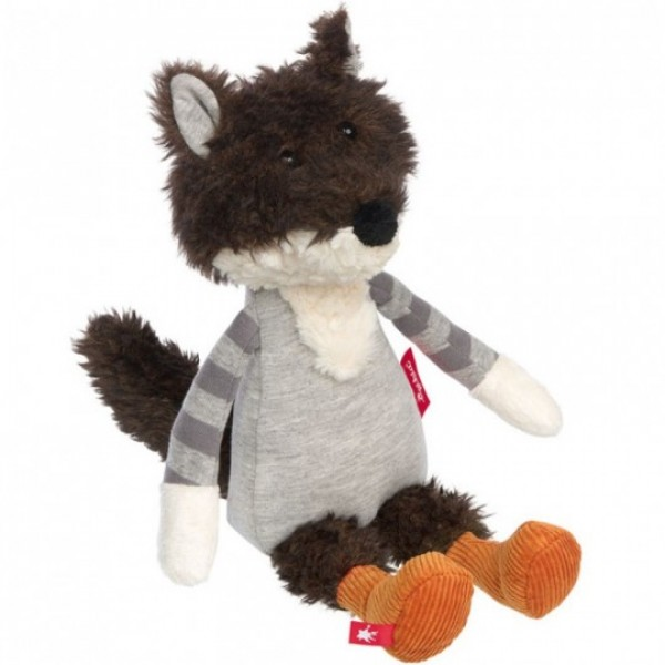 Peluche loup Patchwork Sweety 32 cm