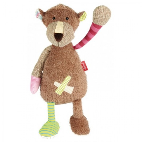 Peluche ours Patchwork Sweety 40 cm -